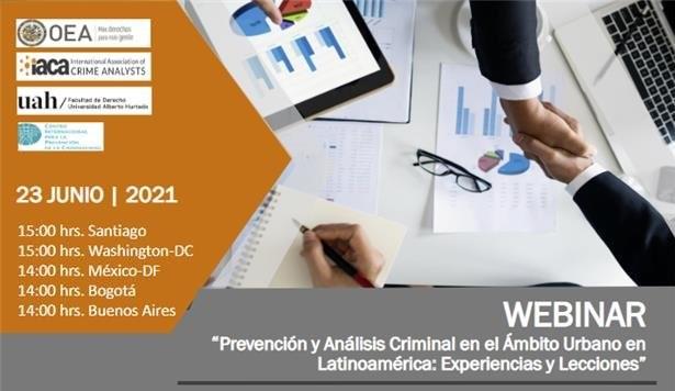 Serie de seminarios web sobre la prevención y el análisis del delito