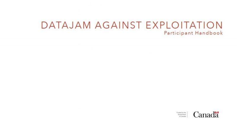 Nueva guía: DataJam contra la explotación: manual del participante