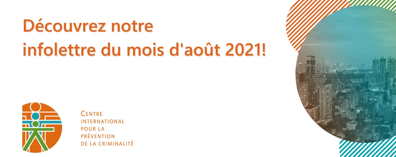 Infolettre – Août 2021